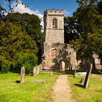 The old church, Ayot St Lawrence by Iain Houston