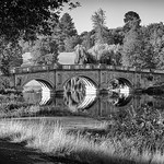 Palladian Bridge, Brocket Park by Iain Houston