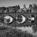 The Palladian bridge, Brocket Park by Iain Houston