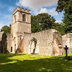 Church ruins, Ayot St Lawrence by Iain Houston