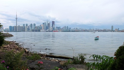 View to Toronto from Snake Island