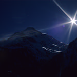 Ekta Mountain  (Rollei 35SE / Ektachrome)
