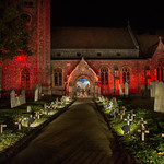 Night Poppies at St Marys Welwyn by Richard White