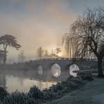 Sunrise Over Brocket Bridge by Richard White