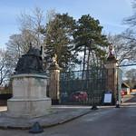Hatfield Park Entrance by David Morris