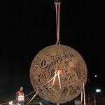 La boule au giratoire du bas du crêt 2012