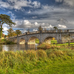 Autumn Brocket Bridge by Richard White