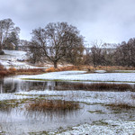 Snowy Digswell Viaduct by Richard White