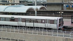 WMATA railcar 3180 at New Carrollton station