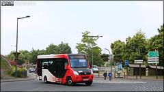 Vehixel Cytios Advance (Irisbus Daily) – Autocars Delcourt / Tusa (Transports Urbains Saint-Lô Agglo) ex Transdev Saint-Lô n°9303
