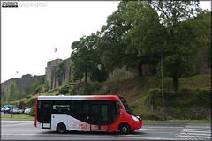 Vehixel Cytios Advance (Irisbus Daily) – Autocars Delcourt / Tusa (Transports Urbains Saint-Lô Agglo) ex Transdev Saint-Lô n°9306