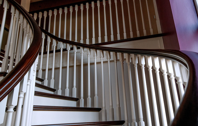 Curved String Stairs