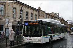 Man Lion's City CNG – Keolis Bordeaux Métropole / TBM (Transports Bordeaux Métropole) n°1713