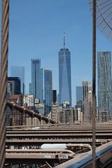 One WTC from the Brooklyn Bridge