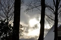Snow clouds Feb 16 21