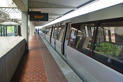 Train at College Park station