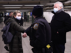 MTA Leaders Thank NYPD Officers
