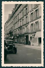 Parisian street scene, 1955