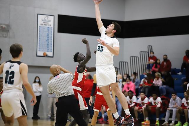 2021 Boys Varsity Basketball vs. Bishop Synder