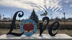 LOVEworks in Lovettsville, VA - Feb 2021 - #LoveWorks #LOVEVA #VirginiaisforLovers #sharethelove #visitvirginia #love #loveva #virginia #visitva #art #sculpture #northernvirginia #NOVA #DMV #LOVE