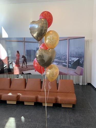 Ballonboeket Valentijnsdag Urban Residences Rotterdam