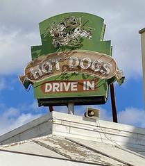 Hot Dogs neon signage - Watsonville, California