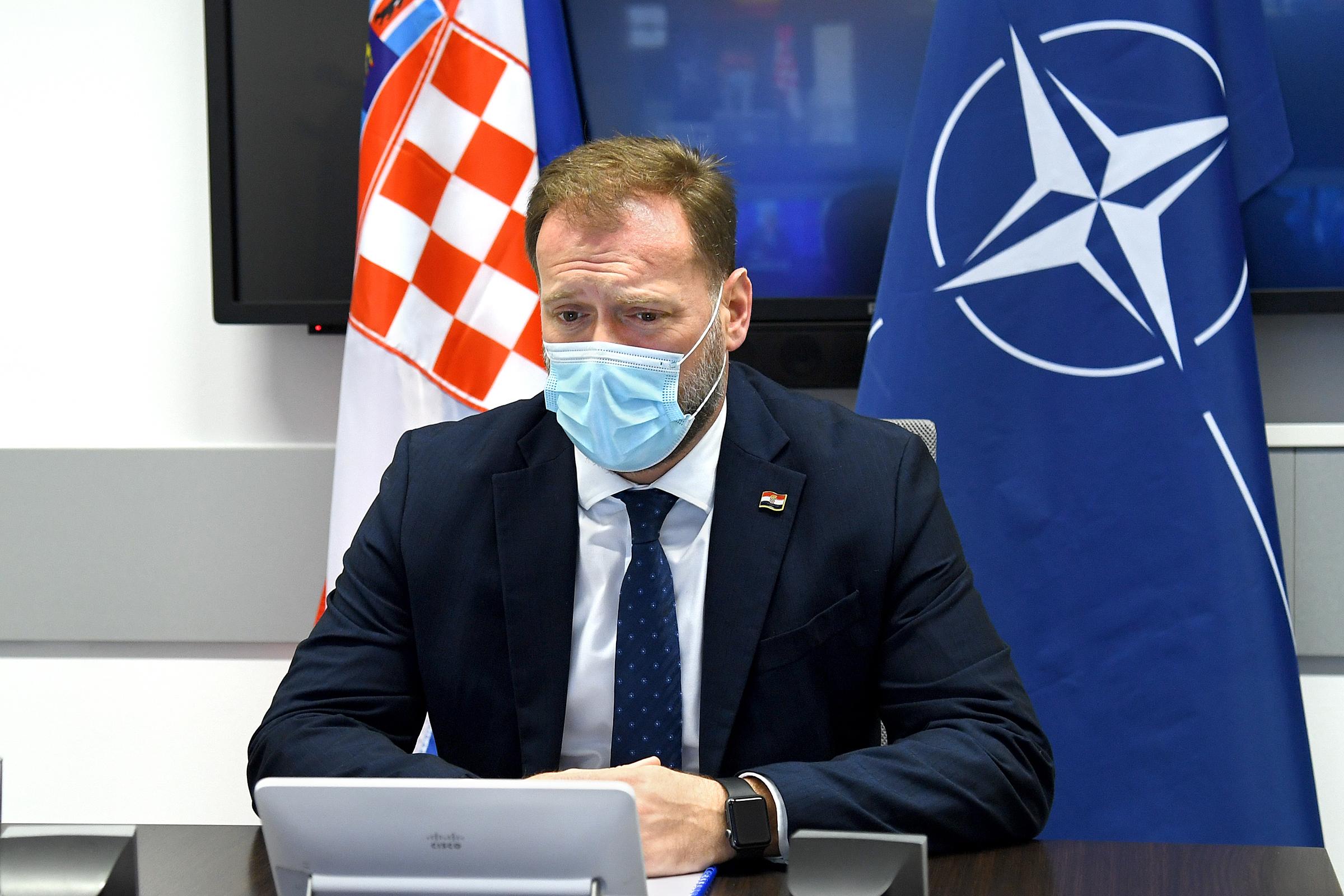 Ministar Banožić na sastanku NATO ministara obrane
