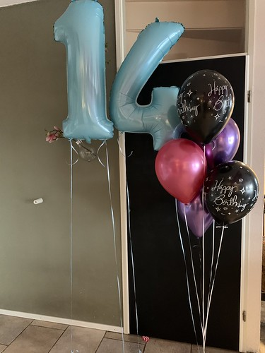 Ballonboeket Verjaardag 14 Jaar