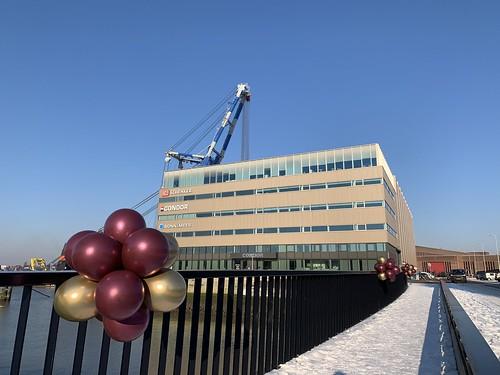 Ballontoef Bordeaux Chrome Goud Brug Scheepsbouwweg Rotterdam Heijplaat