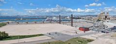 Avant le MuCEM, le môle J4 du port de Marseille en 2004