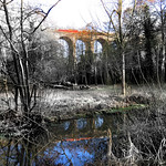 Digswell Viaduct on a frosty morningBill Wastell by Bill Wastell