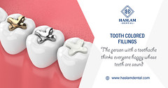 Tooth Fillings - Haslam Dental - Dentist Ogden