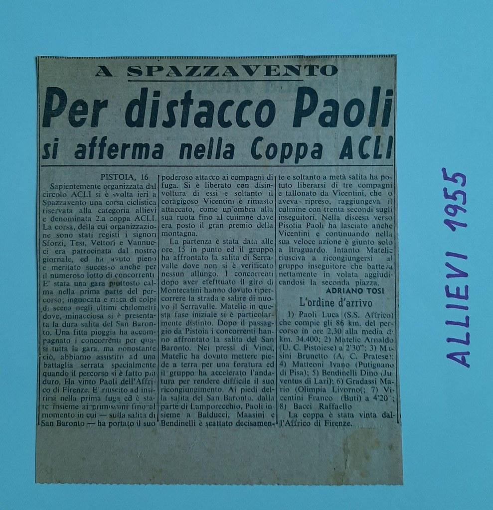 54a) 1955  1°Paoli