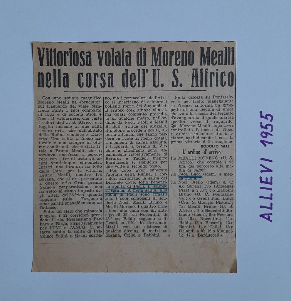 57a) 1955  1°Mealli  2°Paoli