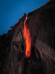 Epic Firefalls! Yosemite Firefall Yosemite National Park Horsetail Falls Yosemite Valley Fire Falls Sunset!  Fuji GFX100 McGucken Fine Art Landscape Photography! Fujifilm GFX 100 & Fujinon FUJIFILM GF 250mm f/4 R LM OIS WR Lens & GF 1.4X TC WR = 350mm!
