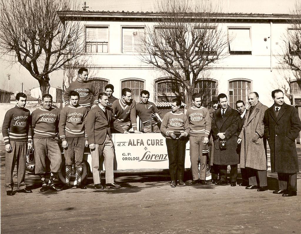 3d) 1957 Alfa Cure presentazione della squadra