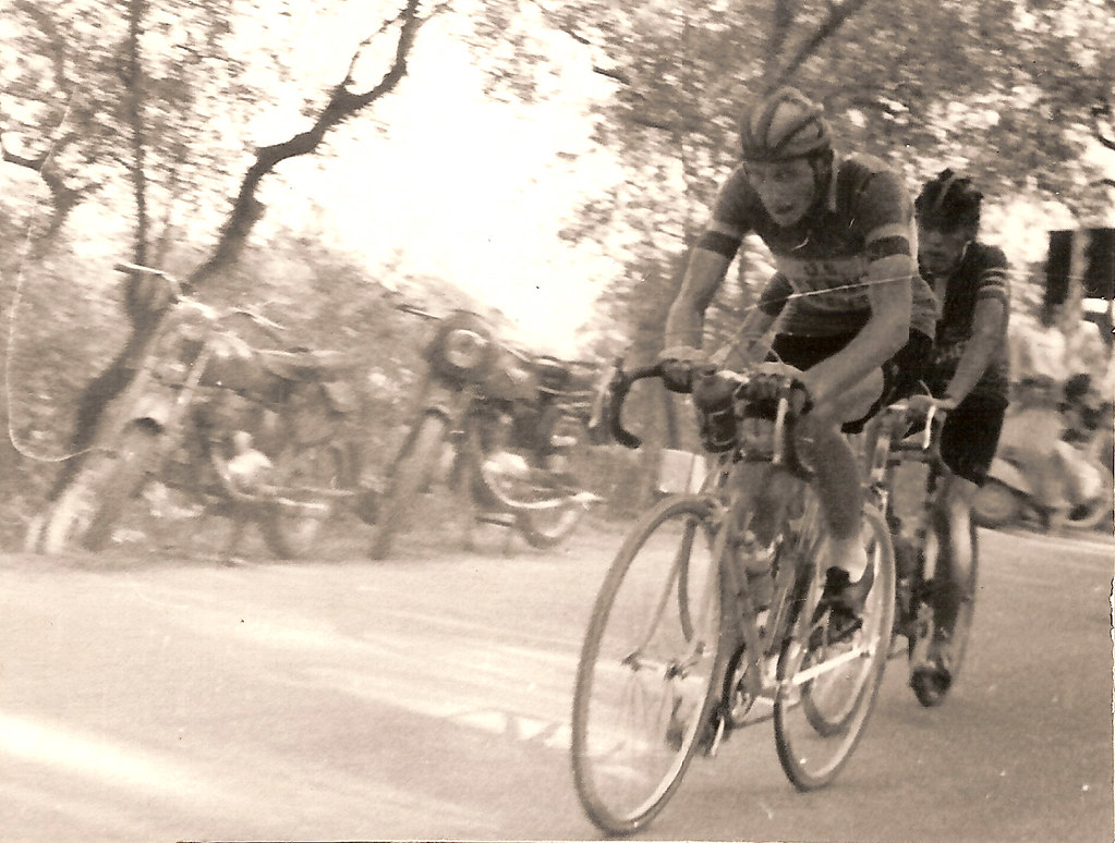 24) 1955 sulla salita del Pitoro
