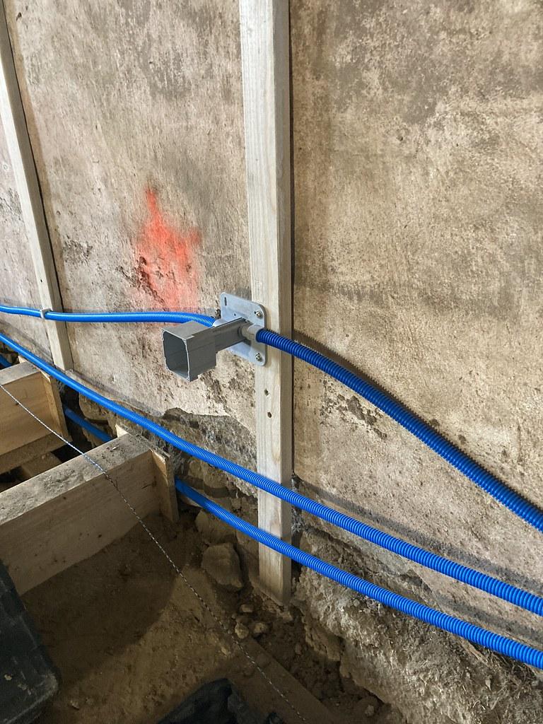 Rénovation, isolation intérieur en chaux chanvre