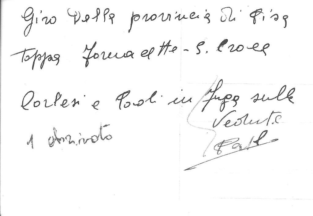 6a) 1954 Carlesi Paoli