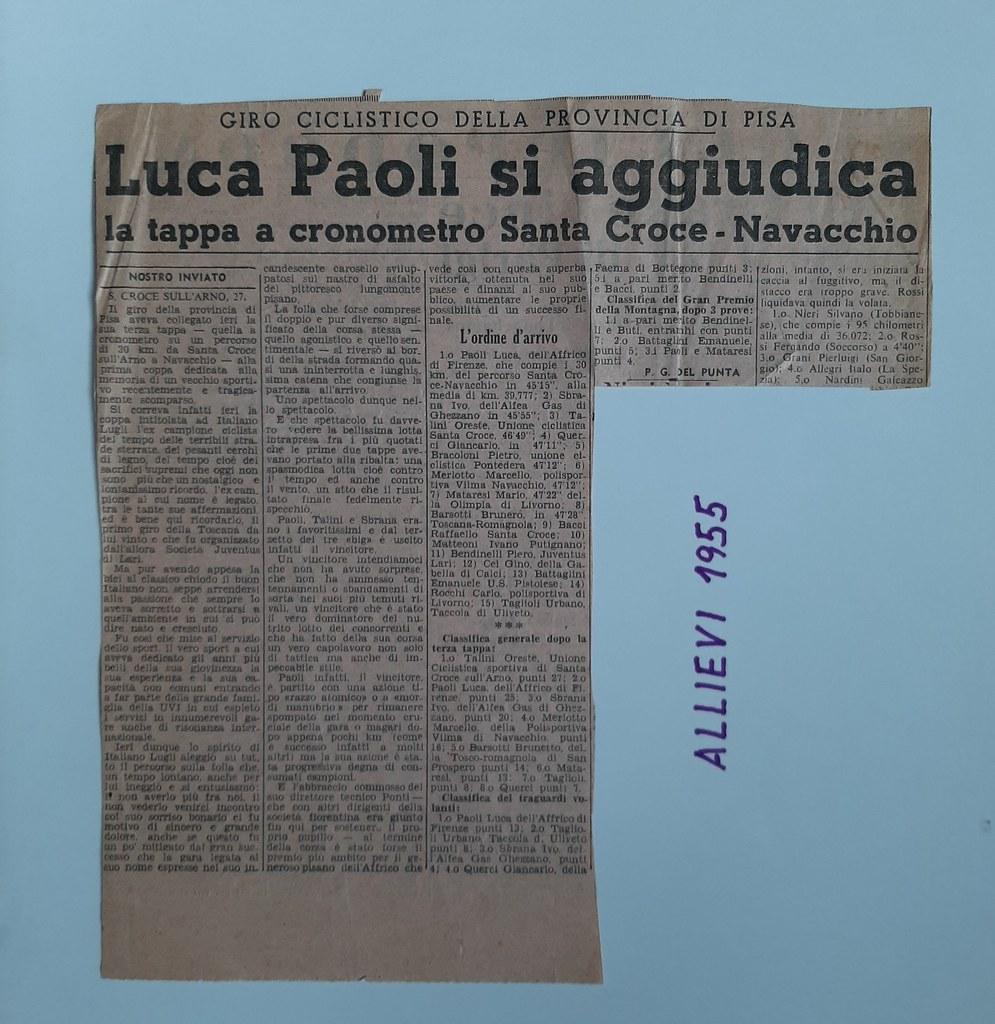 52a) 1955  1°Paoli
