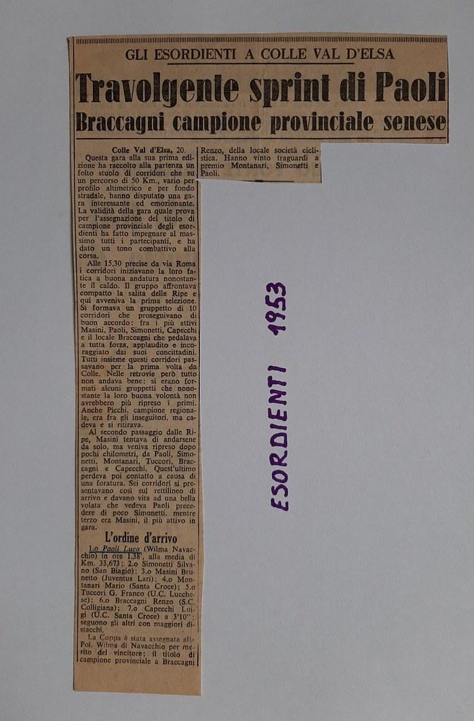 51e) 1953  1°Paoli