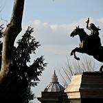 Gianicolo; Monumento equestre ad Anita Garibaldi - https://www.flickr.com/people/82911286@N03/