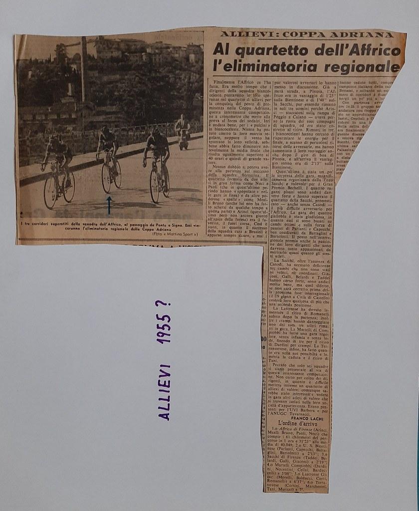 55a) 1955  1°AFFRICO coppa Adriana