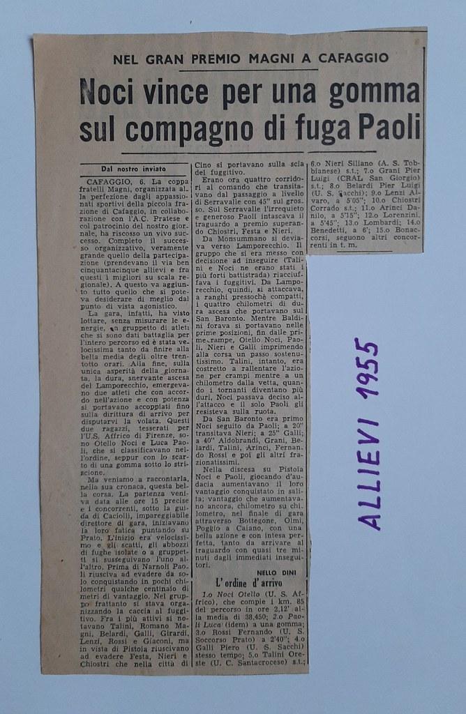 56a) 1955  1°Noci 2°Paoli
