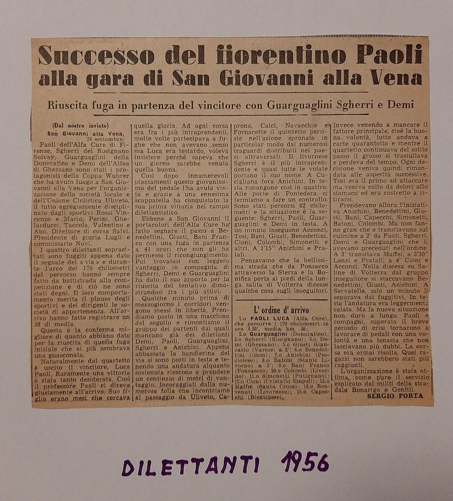 50d) 1956  1°Paoli