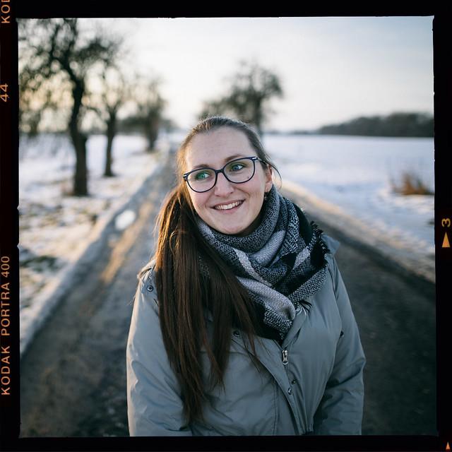 Katy 24mm f/1.4 Kodak Portra 400