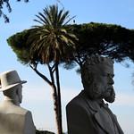 Gianicolo; Busti di garibaldini - https://www.flickr.com/people/82911286@N03/