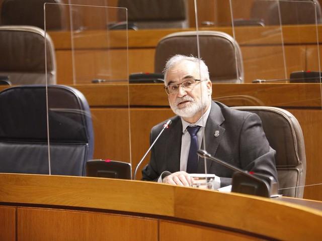 Intervención del Lugateniente Javier Hernández en la Comisión de analisis de la Ley de simplificación administrativa