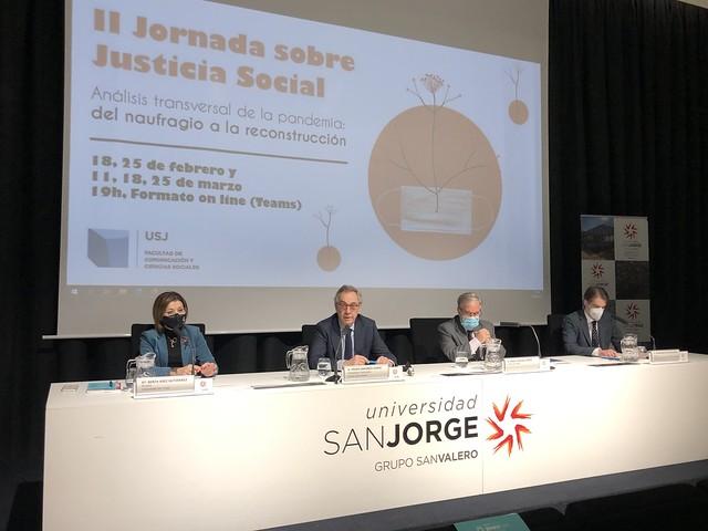 II Jornadas Justicia Social de la USJ