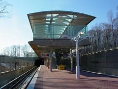 Morgan Boulevard station
